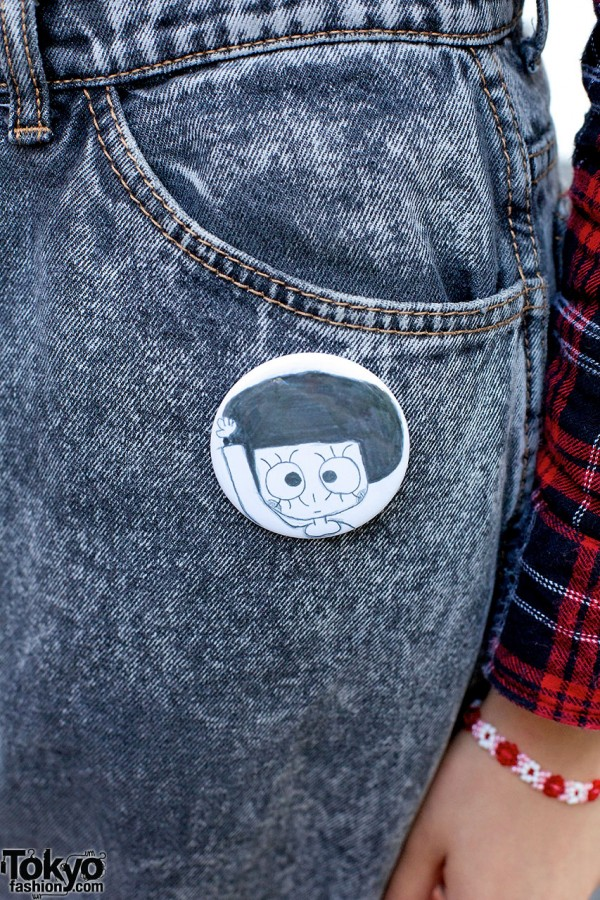 Cute Pin in Harajuku