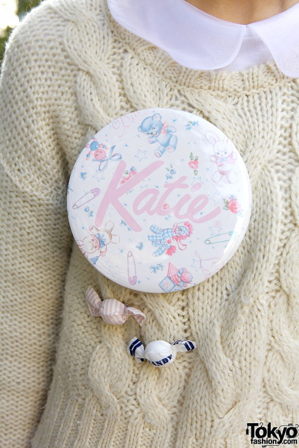 Katie Oversized Pin