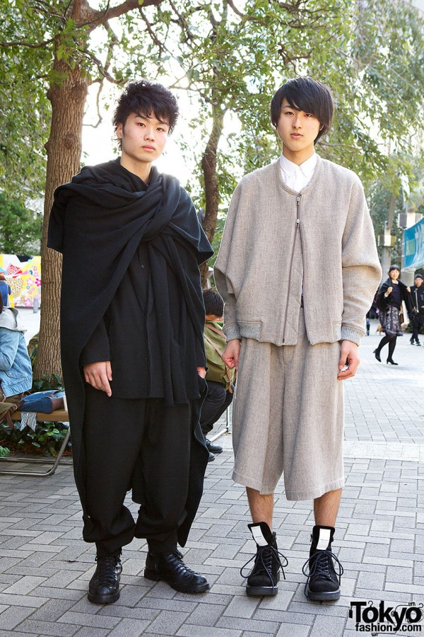 Shinjuku stylish guys