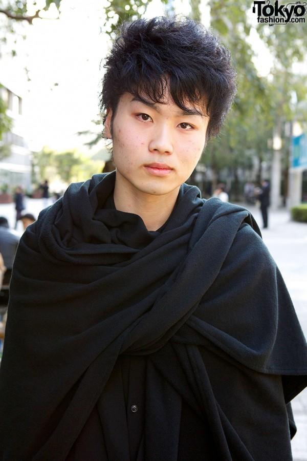 Yohji Yamamoto outfit