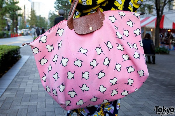 Jeremy Scott x Longchamp bag