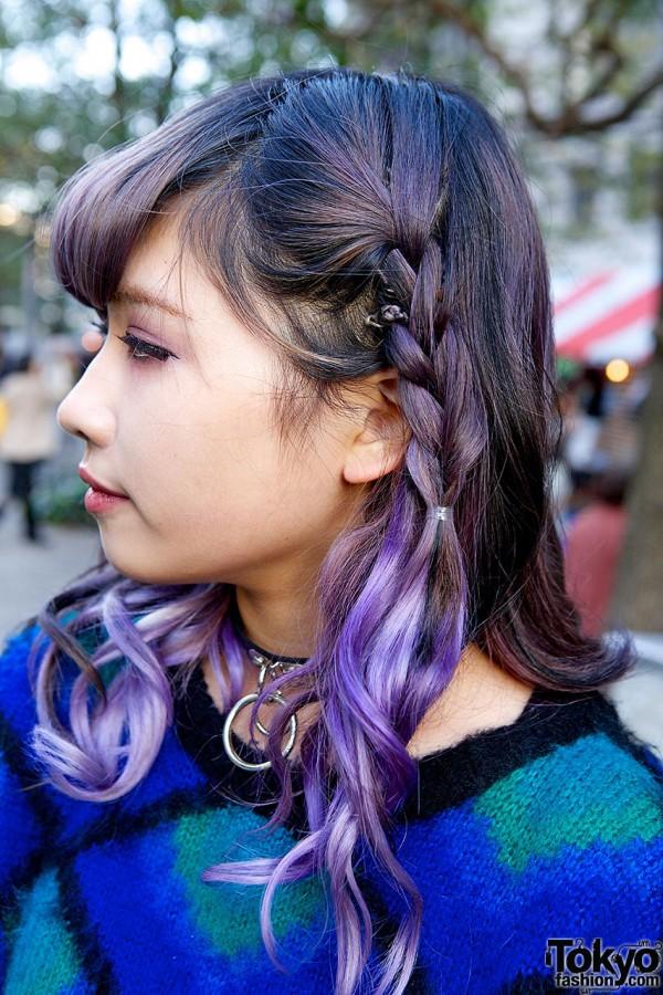 Dark Lilac Hair