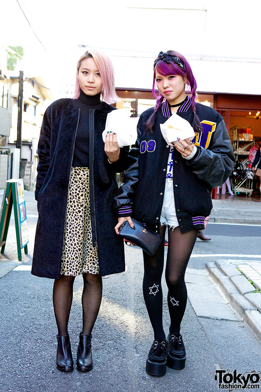 Nadia staffers in Harajuku