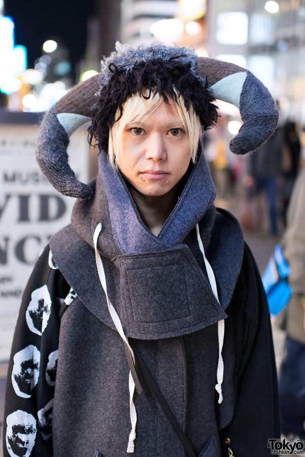 Nozomi Ishiguro Horn Hat