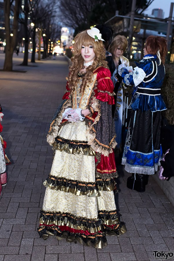 Versailles Visual Kei Fan Fashion (2)