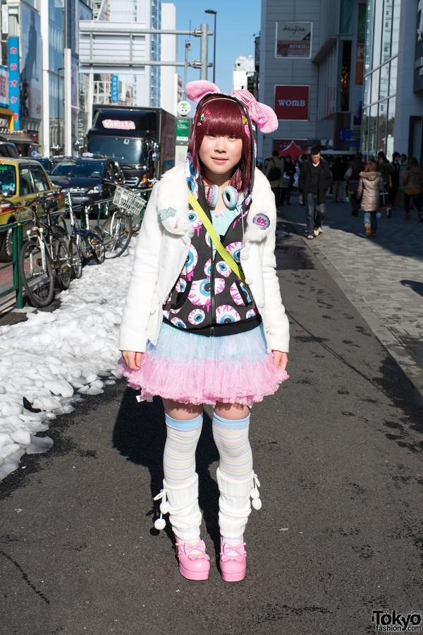 Fairy Kei Fashion in Harajuku