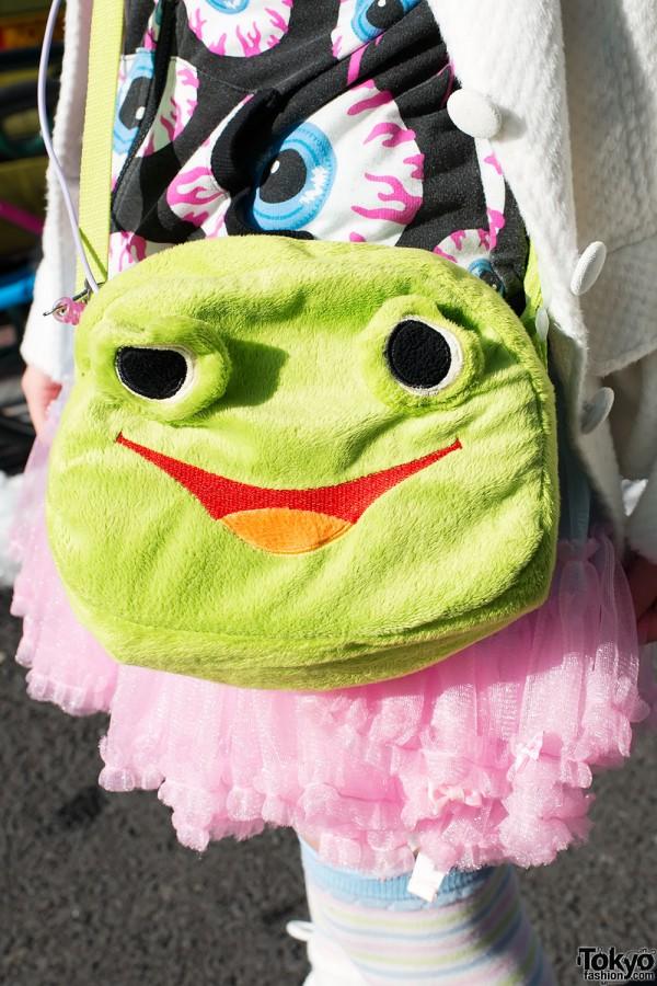 Harajuku Frog Purse