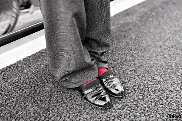 Dress Shoes With Red Socks