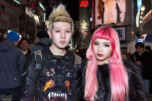 Pink Hair & Piercings in Tokyo