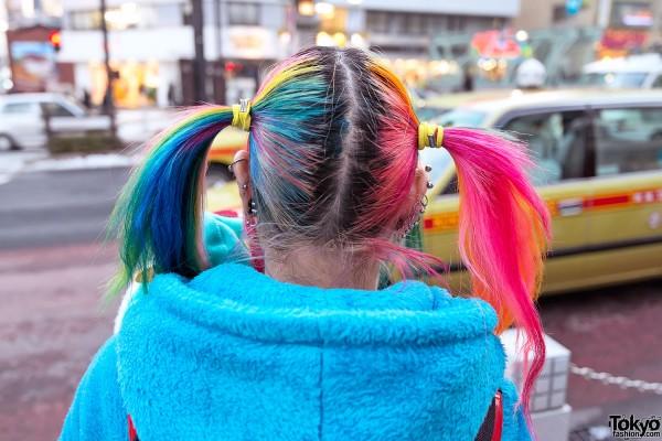 Harajuku Rainbow Hair