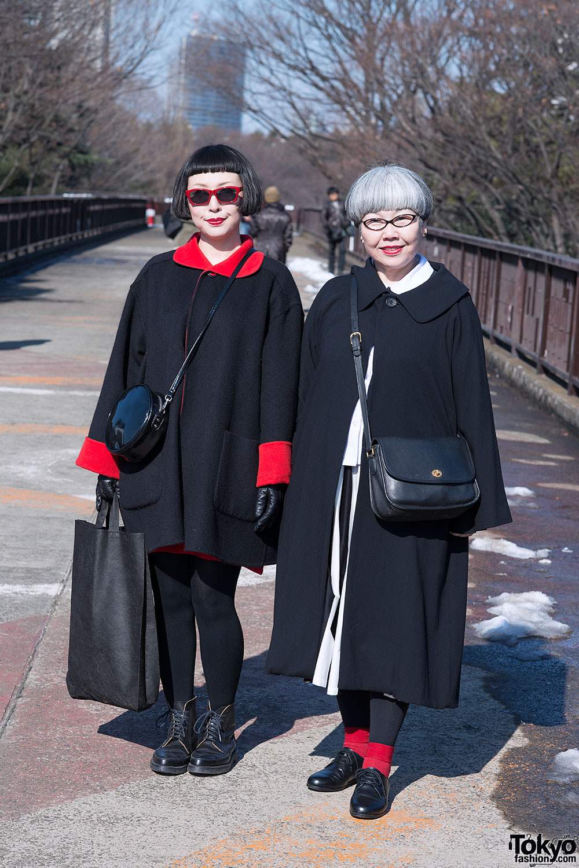 Japanese Minimalist Fashion in Harajuku