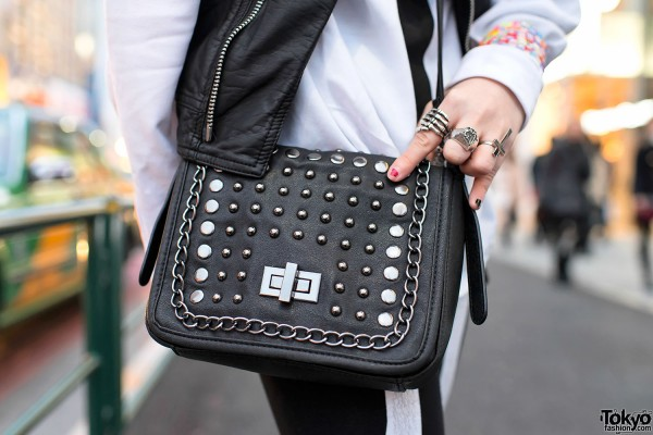 Studded Purse in Harajuku