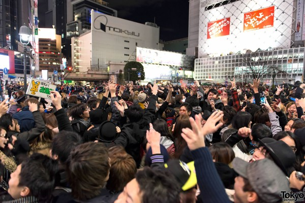 New Year's Eve in Tokyo 2012-2013 – Pictures & Video