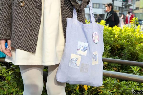 Illustrated Pastel Bag