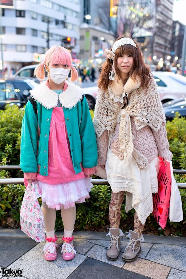 Pink Kawaii vs Mori Girl Style