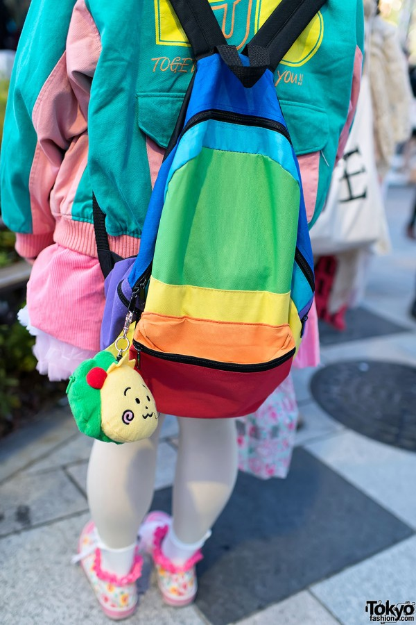 Kawaii Backpack & Japanese Character