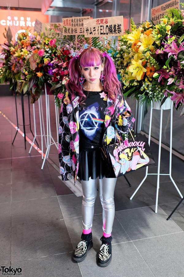 Galaxxxy & Spank Fashion in Harajuku