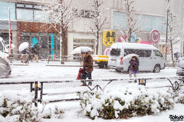 Coming of Age Day Japan 2013 Snow (2)