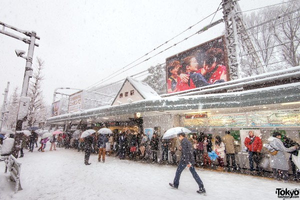 Coming of Age Day Japan 2013 Snow (5)