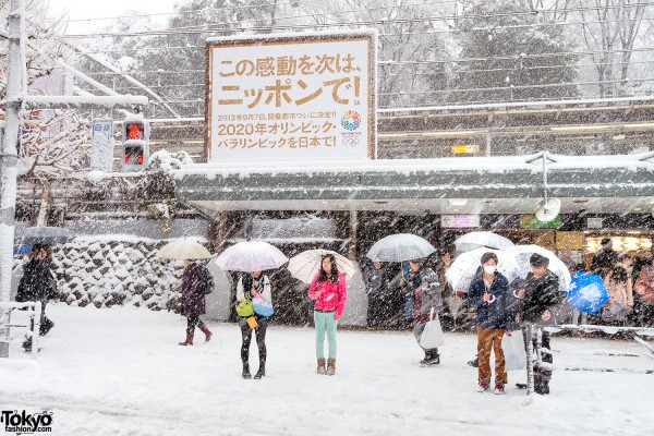 Coming of Age Day Japan 2013 Snow (9)