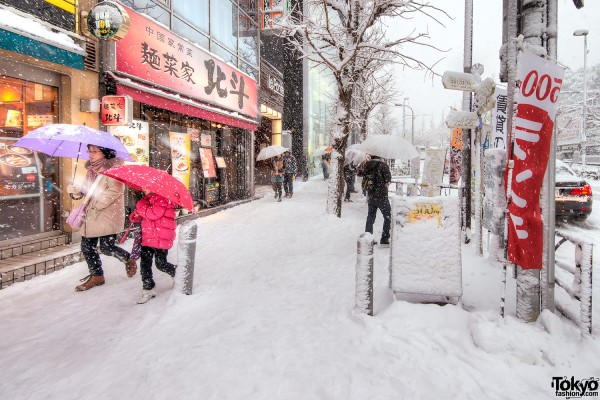 Coming of Age Day Japan 2013 Snow (10)
