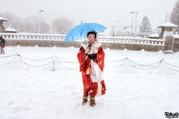 Coming of Age Day Japan 2013 Snow (26)