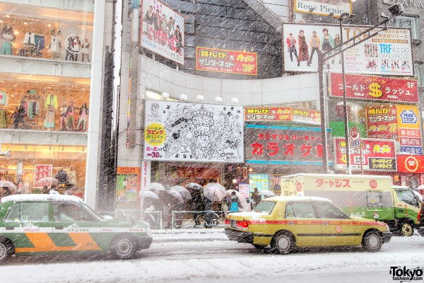 Coming of Age Day Japan 2013 Snow (41)