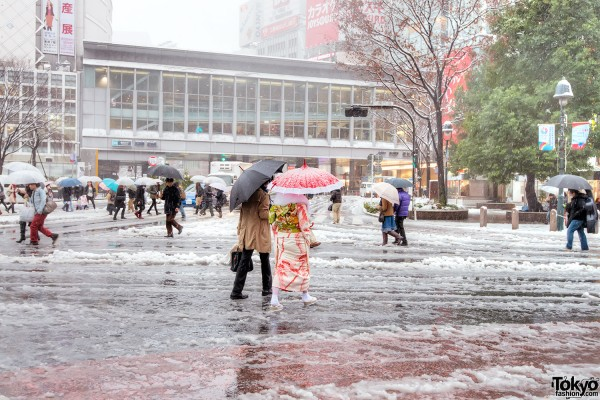 Coming of Age Day Japan 2013 Snow (106)