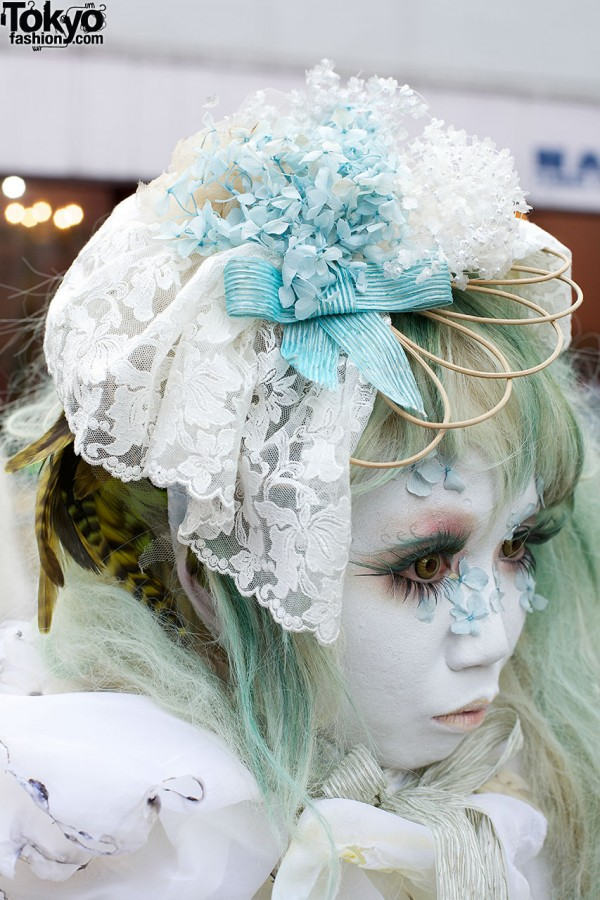 Handmade Lace Hat in Harajuku