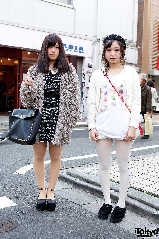 Harajuku high school students