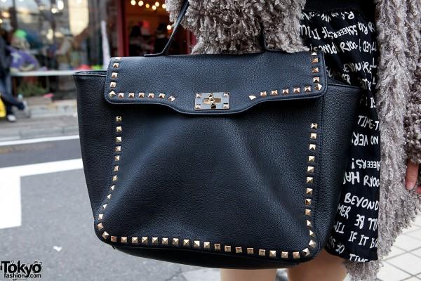 Forever21 studded bag