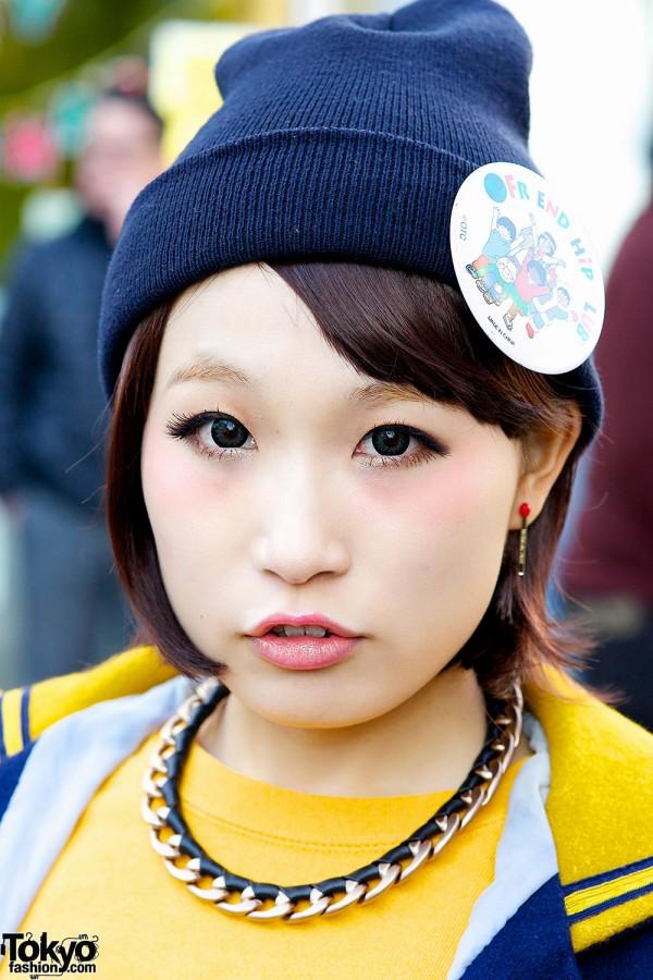 Beanie in Harajuku