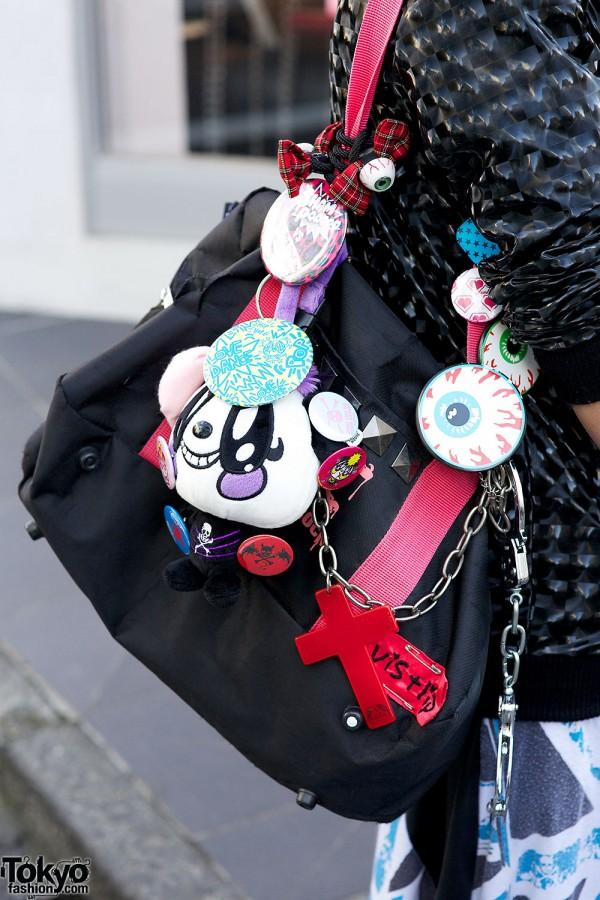 Eyeballs and Panda accessories