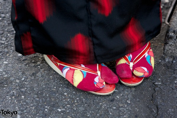 Japanese Kimono Sandals