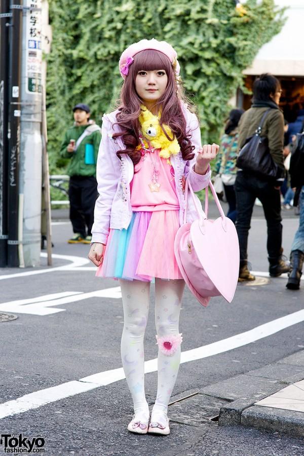 Harajuku pastel outfit