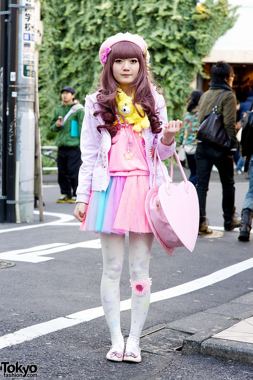 Harajuku Pastel Outfit Tokyo Fashion News