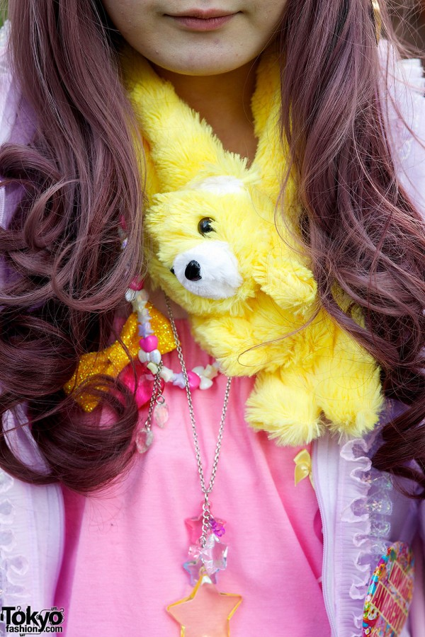 yellow teddy