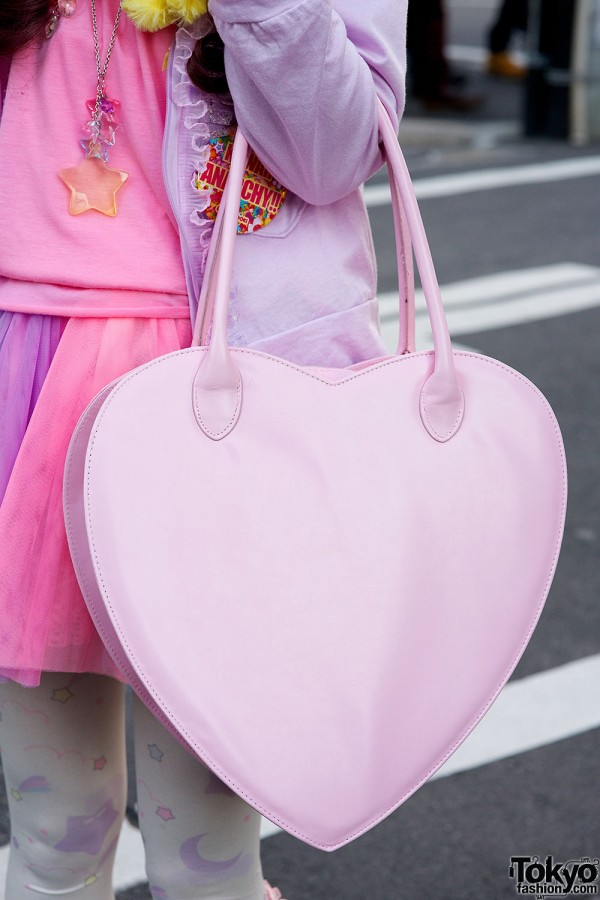 Nile Perch Heart Bag
