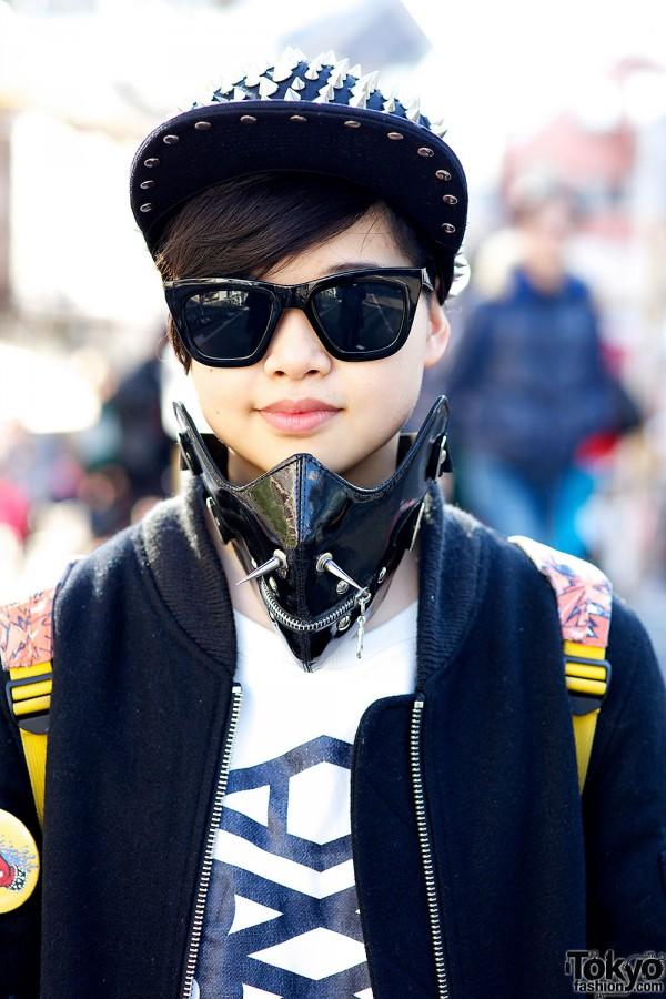 Sunglasses & face mask