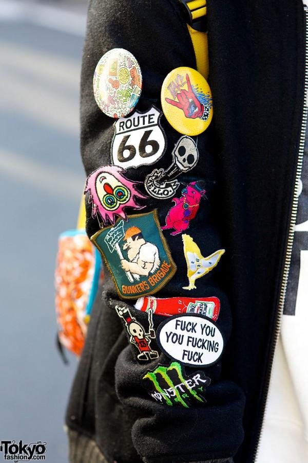 The Test Jacket Harajuku