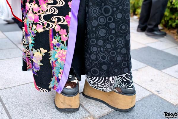 Buffalo Platform Boots & Takuya Angel