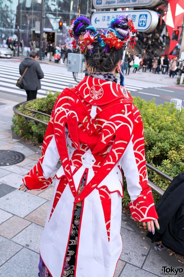 Winged Kimono