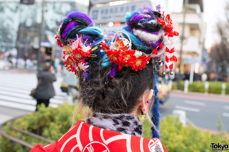 kandi raver ichikas winged kimono by takuya angel in harajuku