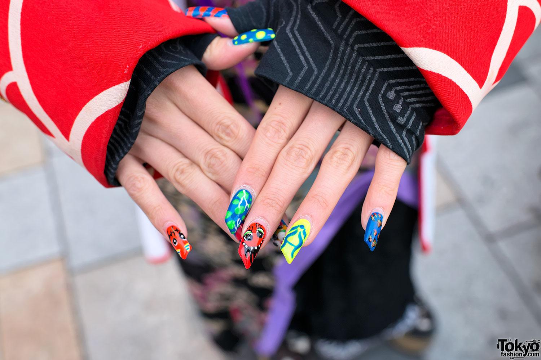 Cute Japanese Nail Art – Tokyo Fashion News |Cute Japanese Nail Art