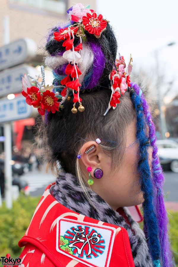 Piercings & Hair Falls in Harajuku