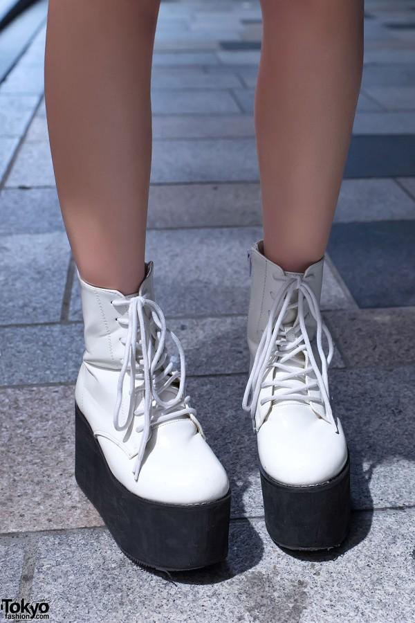 Murua Platform Boots in Harajuku