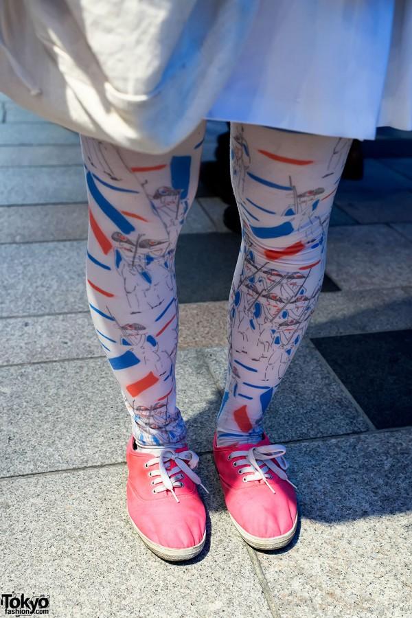 Pamela Mann French Soldier tights