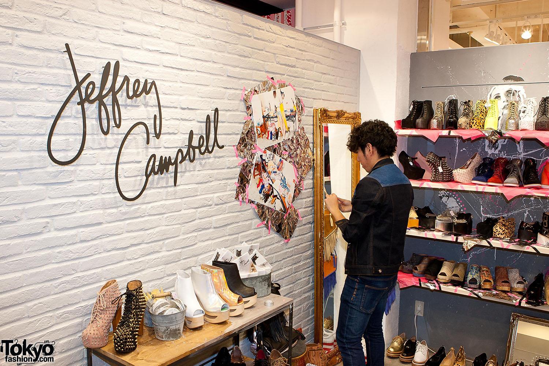 Jeffrey Campbell Harajuku Store 4 Tokyo Fashion News