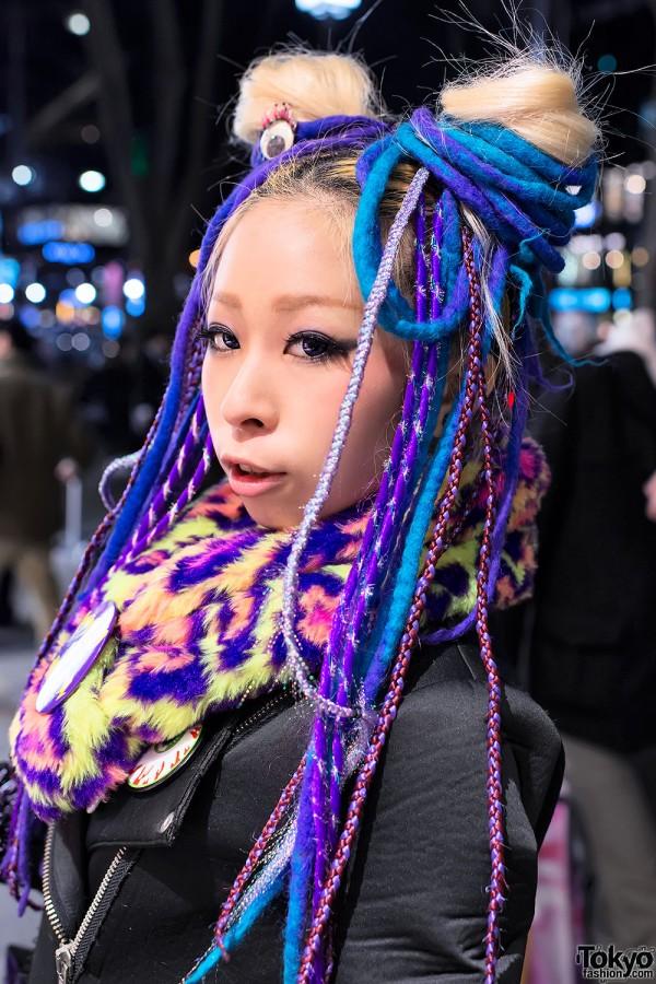 Japanese Dancer Nancy w/ Hair Falls