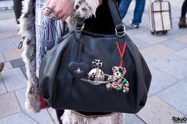 Vivienne Westwood Handbag & Teddy Bear